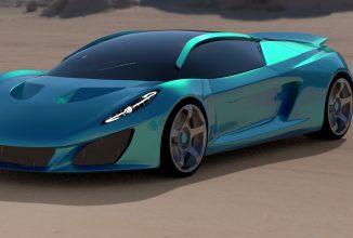 Keating este un producător britanic ce va lansa anul viitor o supermașină cu performanțe uriașe