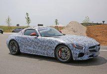 Poze spion cu mult așteptatul Mercedes-Benz AMG GT; Detalii despre rivalul Porsche 911 Carrera S Cabriolet