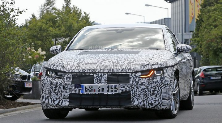 Poze spion cu Volkswagen CC 2018; Viitorul sedan este comparat cu un Ford Focus RS