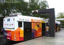 Clujenii vor putea folosi autobuze electrice cât de curând; Oficialitățile achiziționează 30 de autobuze electrice pentru a reduce poluarea din oraș