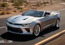 Varianta cabrio a lui Chevrolet Camaro 2016 apare în imagini cu o zi înainte de lansare