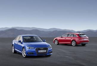 Audi A4 2016 este dezvăluit înainte de show-ul auto din Frankfurt; iată imagini și materiale video cu noul sedan german