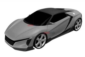 Noi brevete ajunse pe Internet ne prezintă designul succesorului lui Honda S2000