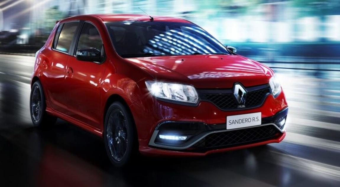 Imagini oficiale Renault Sandero RS