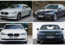 Noul BMW Seria 7 este comparat în imagini cu versiunea actuală ce este disponibilă pe piață – Seria 7 2015