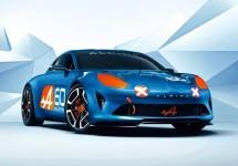 Noul concept Alpine Celebration prezentat la Le Mans