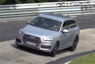 Un prototip de Audi SQ7 2016 suferă un accident în timpul testării la Nurburgring; Se ridică puţin de pe pistă! (Video)