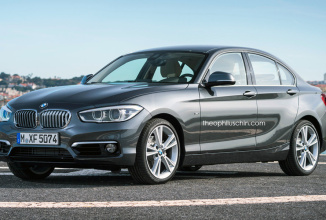BMW F52 Seria 1 primeşte o randare; Va sosi noul sedan cu tracţiune frontală sau pe spate?