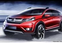 Conceptul Honda BR-V primeşte o serie de randări, debutează în august