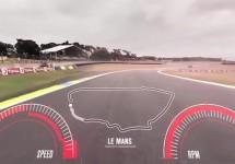 Nissan GT-R ne oferă o vedere la 360 de grade a circuitului de la Le Mans 2015 (Video)