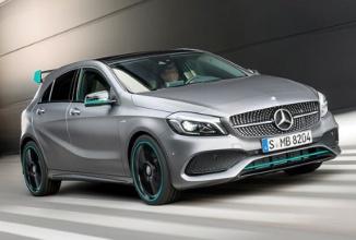 """Noul Mercedes A45 AMG primeşte un facelift şi un motor mai """"forţos"""""""