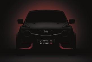 Nissan Juke-R Nismo va fi prezentat la festivalul Goodwood; Iată un teaser!