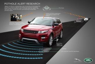 Jaguar Land Rover anunţă o tehnologie specială care detectează şi anticipează gropile de pe drum (Video)