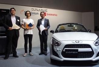Daihatsu Copen Roadster este un automobil modular ce include elemente printate 3D