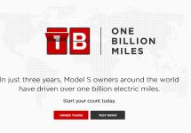 Tesla Model S a fost condus de-a lungul a peste 1.6 miliarde de kilometri în doar 3 ani