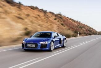 Noul Audi R8 în varianta cu motor V10 de 610 cai putere ni se dezvăluie în fotografii