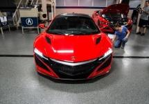 Honda Acura NSX 2016 surprinsă în prim plan de camere, are parte de un turneu american (Video)