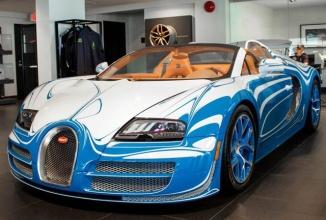 Bugatti Veyron Vitesse L'Or Blanc este unul dintre cele mai inedite modele Bugatti din lume