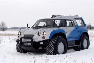 În Rusia nici camionul nu te calcă, mulţumită unei tehnologii revoluţionare a cauciucurilor (Video)
