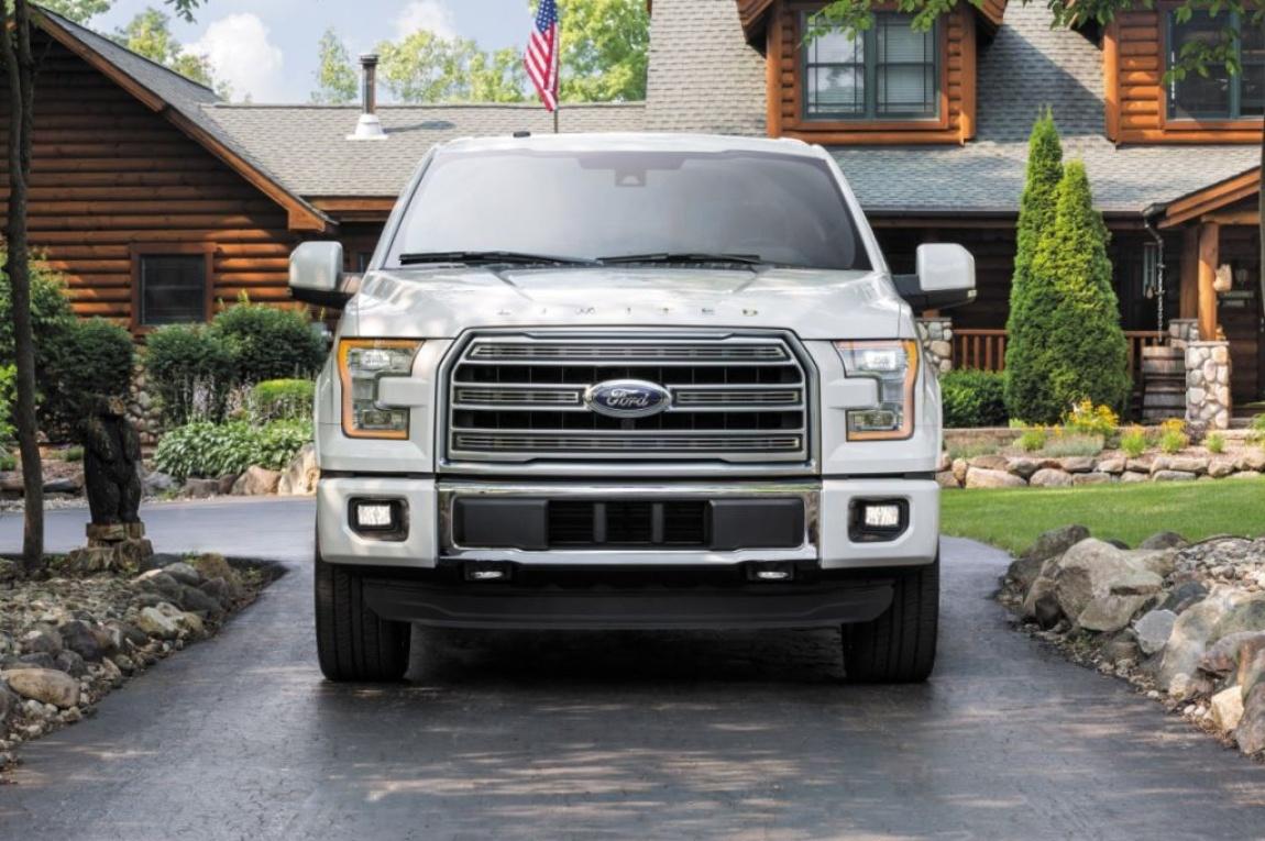 Imagini oficiale Ford F150 Limited 2016