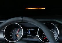 Shelby GT350 primeşte un bord high tech cu proiecţie HUD la pachet, reflectând schimbările de viteze