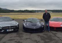 Jeremy Clarkson a realizat ultimul său tur pe pista Top Gear; A ales un Ferrari 488 GTB