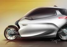 Lit Motors C1 e un automobil pe 2 roţi, sau o motocicletă complexă cu echilibru giroscopic (Video)
