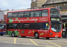 Autobuzele hibride din Londra rulează doar pe motorină ca urmare a unor probleme cu bateriile