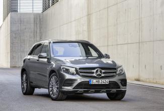 Noul Mercedes-Benz GLC 2016 se lasă admirat în 88 fotografii; iată și detalii despre motorizări
