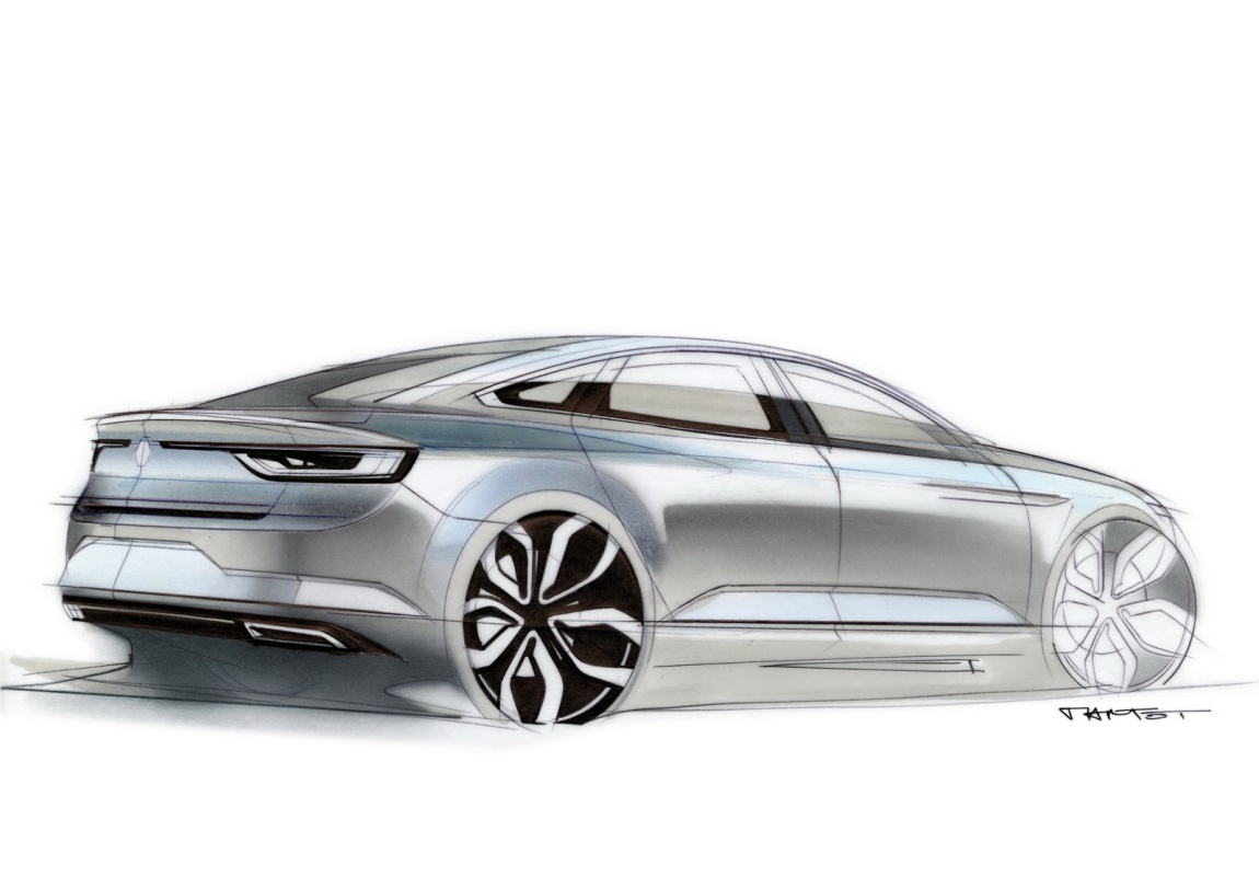 Imagini oficiale Renault Talisman
