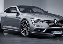 Renault Talisman primeşte o variantă coupe… doar în Photoshop deocamdată