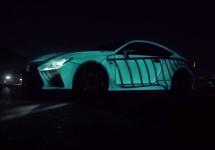 Lexus prezintă RC-F Concept, mașina ce ia pulsul utilizatorului și îl transformă în semnale luminoase