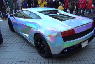 Iată un Lamborghini Gallardo cu un paint-job ce atrage toate privirile!