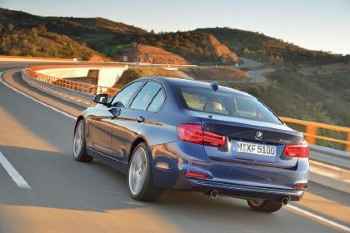 Imagini oficiale BMW 320d ED