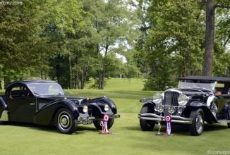 Concursul de Eleganță Auto din Plymouth (US) își desemnează câștigatorii; Duesenberg Model J și Bugatti 57SC la loc de cinste