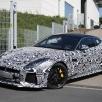 Imagini spion Jaguar F-Type SVR 2016