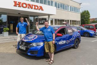 Honda intră în Cartea Recordurilor pentru cel mai mic consum de carburant din Europa cu modelul Civic Tourer
