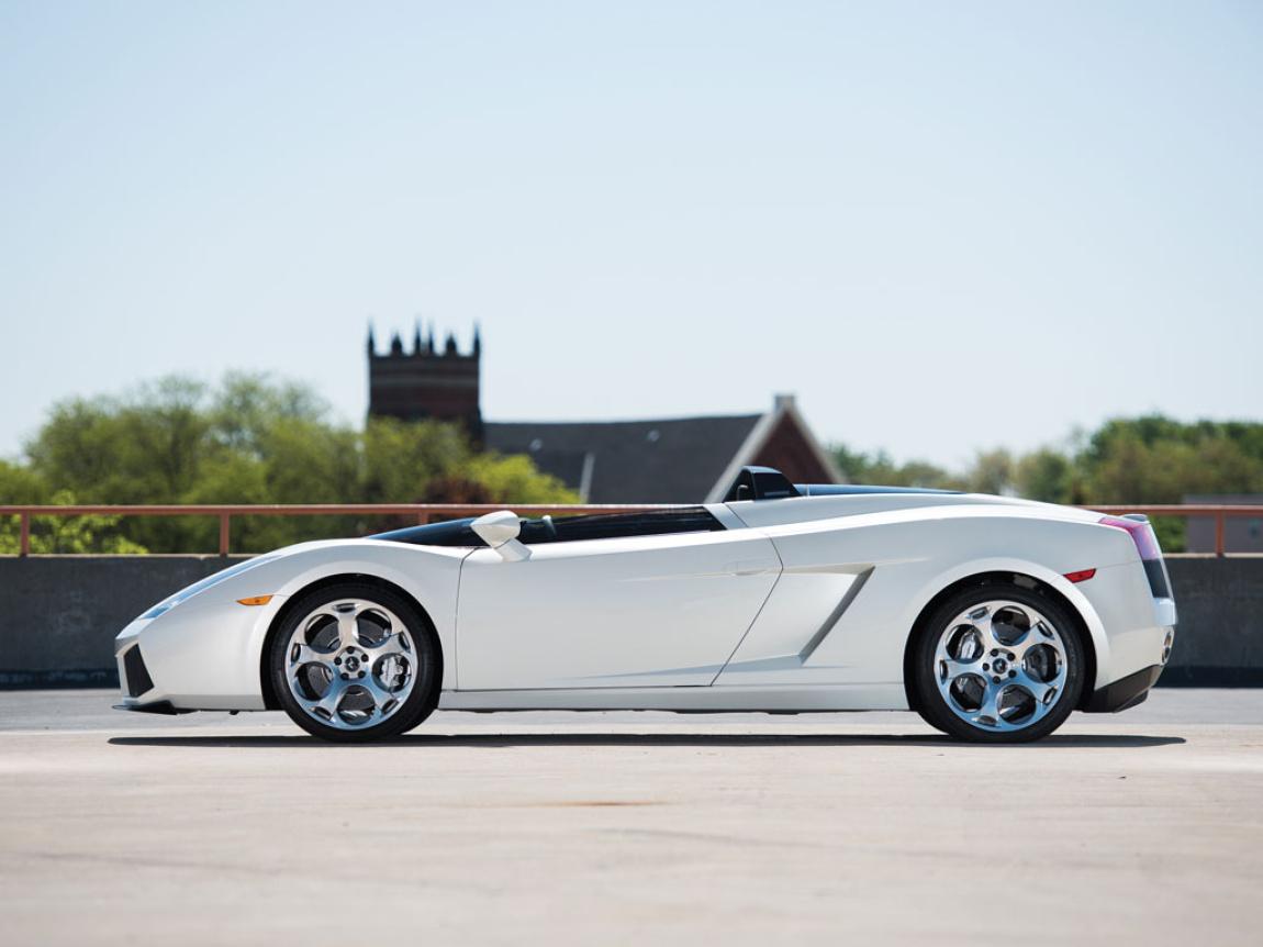 Imagini oficiale Lamborghini Concept S 2006
