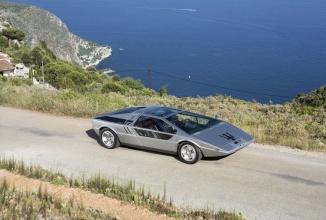 Conceptul Maserati Boomerang din 1971 va fi din nou scos la licitație