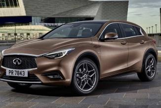 Noul Nissan Infiniti Q30 îşi dezvăluie designul înainte de debutul la Frankfurt Motor Show 2015
