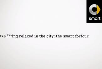 Smart Forfour primeşte o reclamă simpatică cu… copii care înjură (Video)