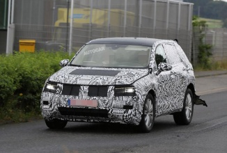 Volkswagen Tiguan 2016 se afișează în noi fotografii spion; un model prototip va fi dezvăluit în Septembrie