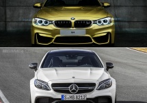 BMW M4 coupe comparat cu Mercedes C63 S AMG coupe; Cine câştigă bătălia?