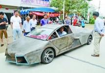 Un Lamborghini contrafăcut în China a costat 60.000 de dolari, iar proprietarul riscă mari amenzi
