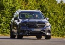 Mercedes-AMG GLS63 2016 fotografiat într-o serie de cadre detaliate; Gata de lansare!