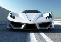 Compania americană Exotic Rides pregătește un automobil super-sportiv numit ER W70