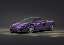 Un McLaren 570S purpuriu face senzație la concursul de eleganță Pebble Beach