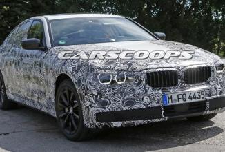 BMW Seria 5 2017 apare într-o galerie de noi imagini spion, sub formă de prototip