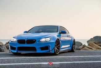 BMW 650i Prior Design Widebody îşi face apariţia în imagini, cu un design mai agresiv decât oricând