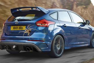 """Ford le-a pus gând rău păianjenilor care """"prăjesc"""" componente de modele Focus RS; Montează protecţii speciale anti arahnide"""